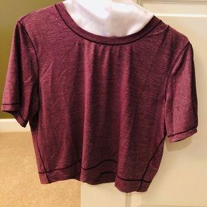 Lululemon short sleeve half shirt